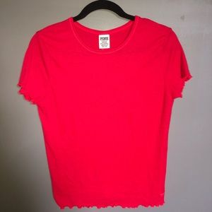 Pink by Victoria secret red shirt